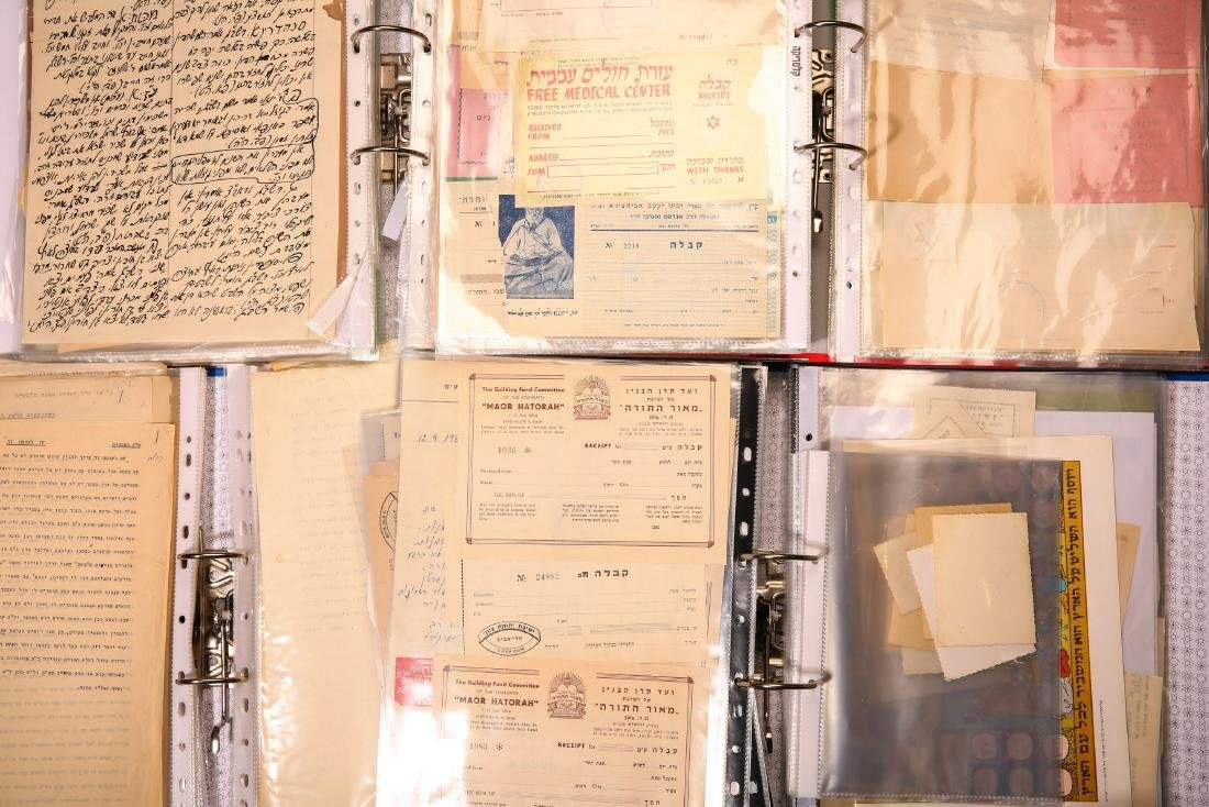 Giant Collection of Hundreds of Handwritten Leaves and