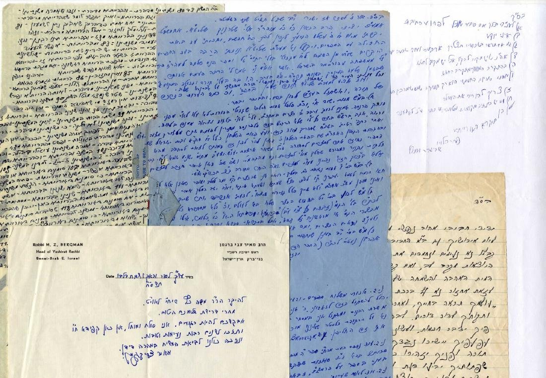 Important Collection of Rabbinic Letters.
