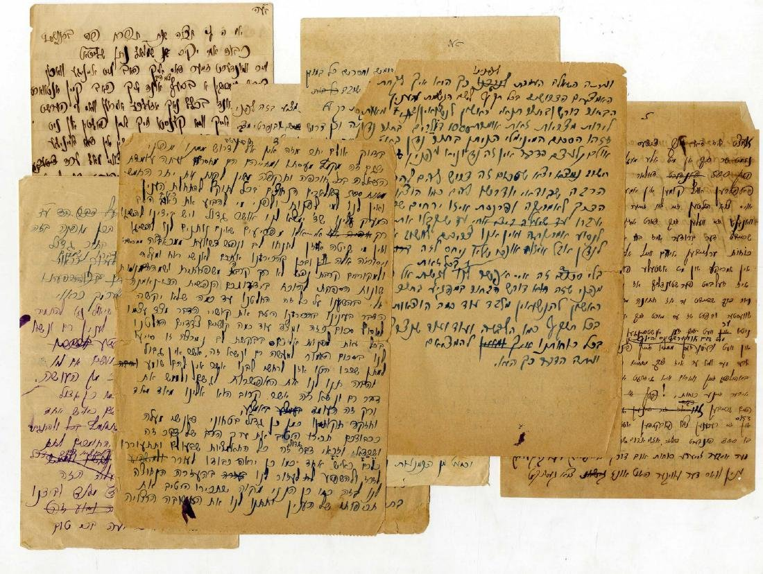 A Collection of Personal Letters from Rabbi Shmuel