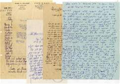 Collection of Rabbinical Letters 20th Century