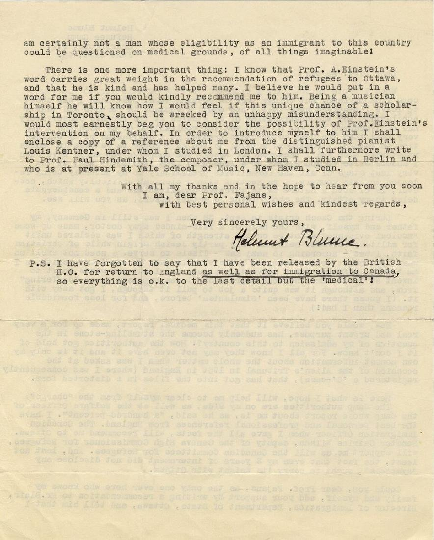 Correspondence Describing Einstein's Commitment and - 5