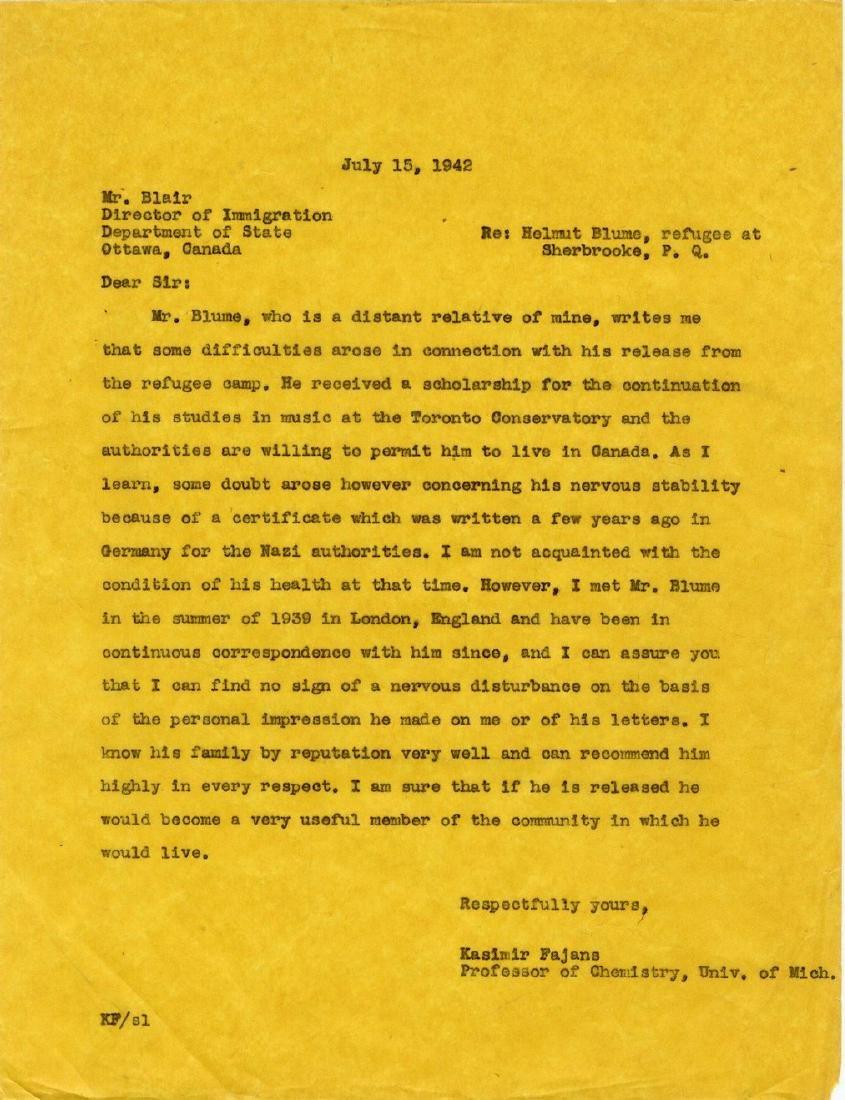 Correspondence Describing Einstein's Commitment and - 8