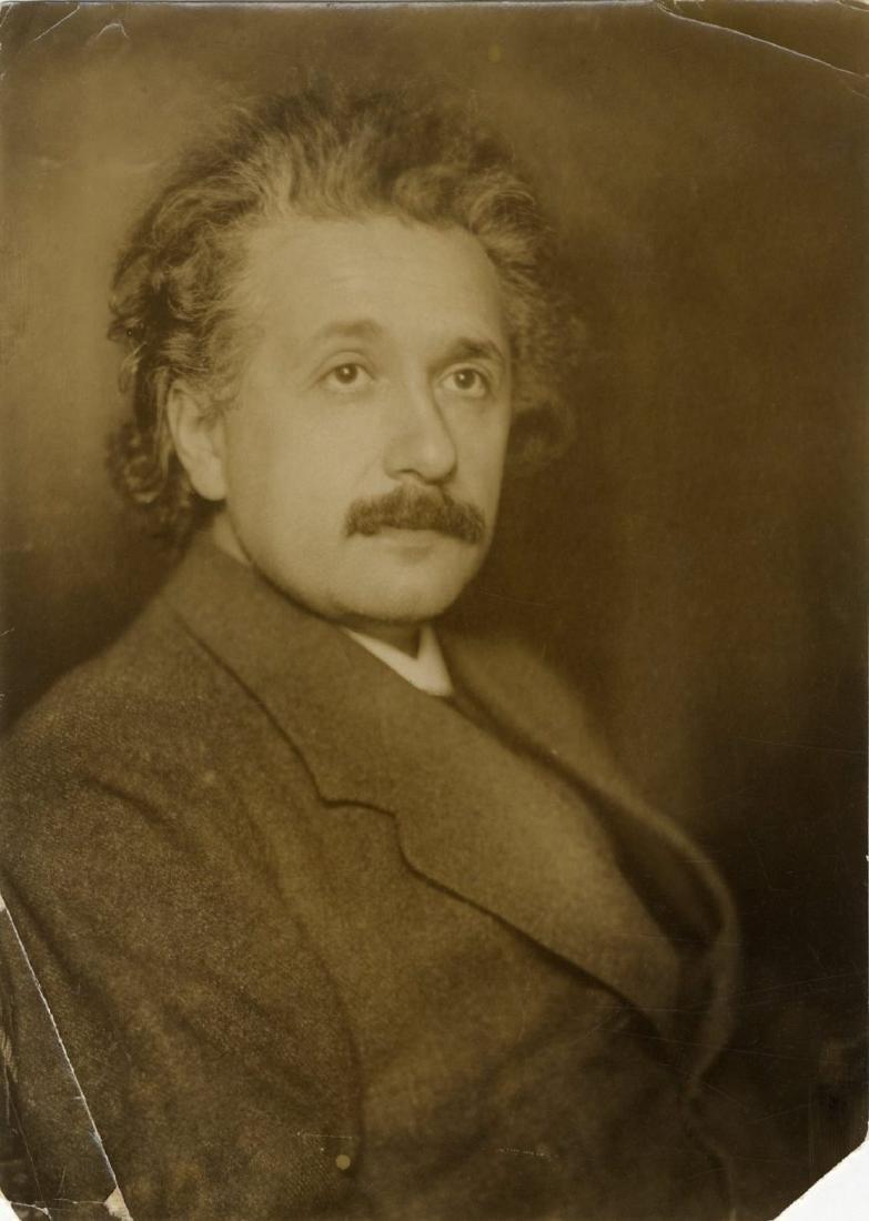 Original Photograph of Albert Einstein, c. 1922, the