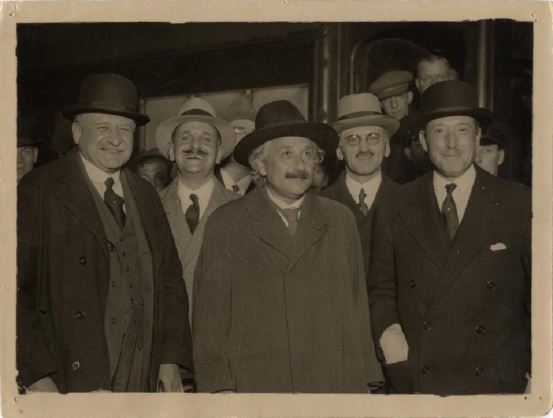 Collection of [10] Press Photos of Albert Einstein.