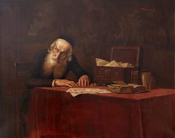 Alois Heinrich Priechenfried (1867-1953). The Merchant