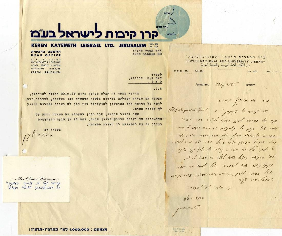 Collection of Letters and Documents - The Zionist