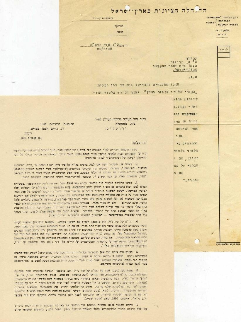 Collection of Letters and Documents - The Zionist - 2