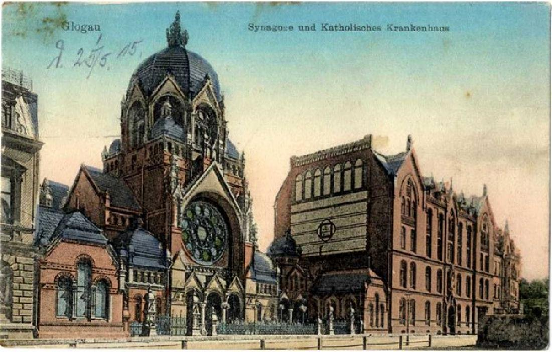 Collection of Postcards and Photographs of Synagogues,