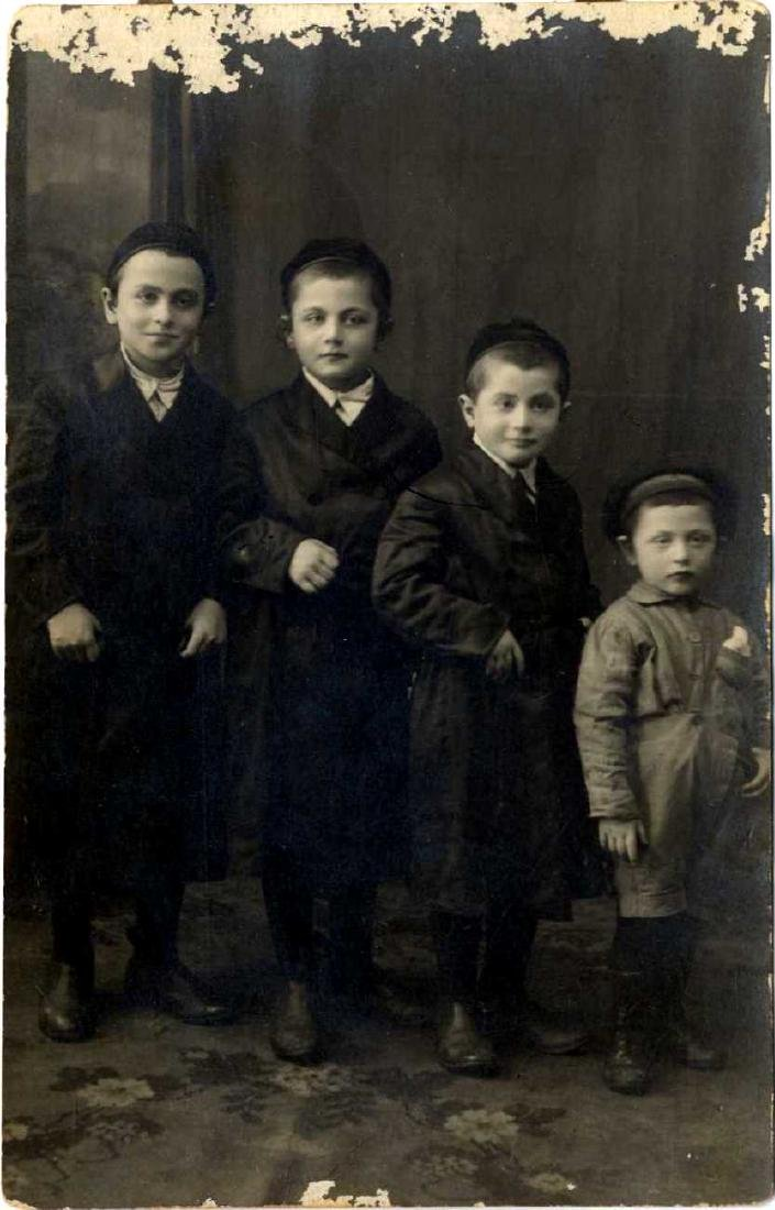 Photograph of Jewish Children, Poland. C. 1920s