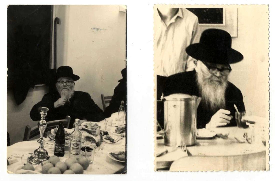 Collection of Photographs of Rabbis - 20th Century