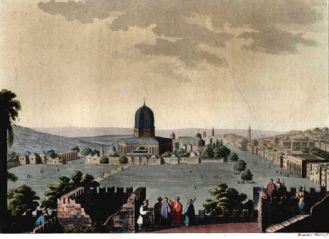Large Collection of Lithographs - Views of the Land of