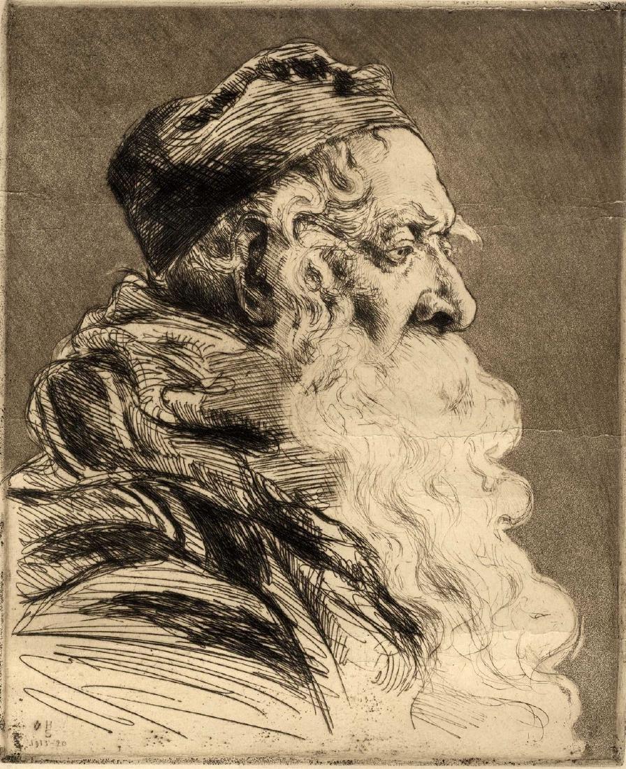 Hermann Struck - Engraving
