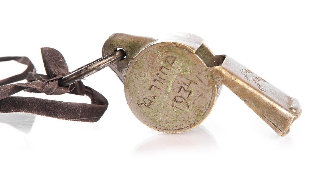 Whistle made in England, ×רגון ×. פ. ב.-