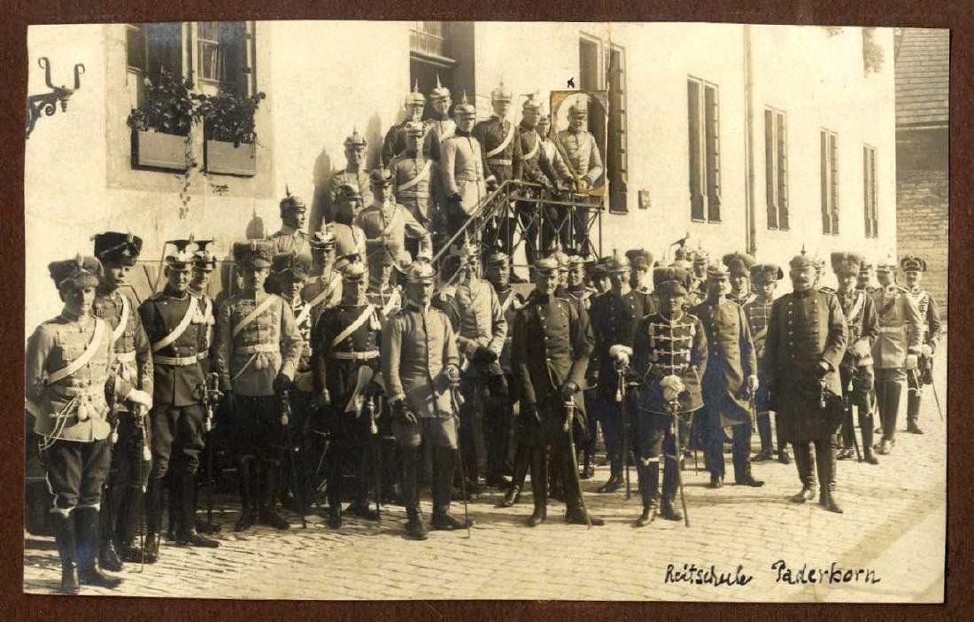 Three Albums with Photographs from WWI, Germany and