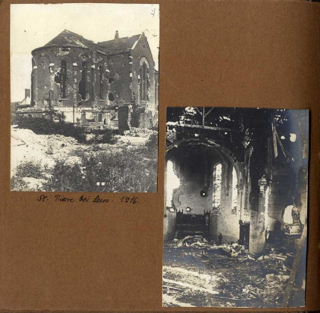 Three Albums with Photographs from WWI, Germany and - 2