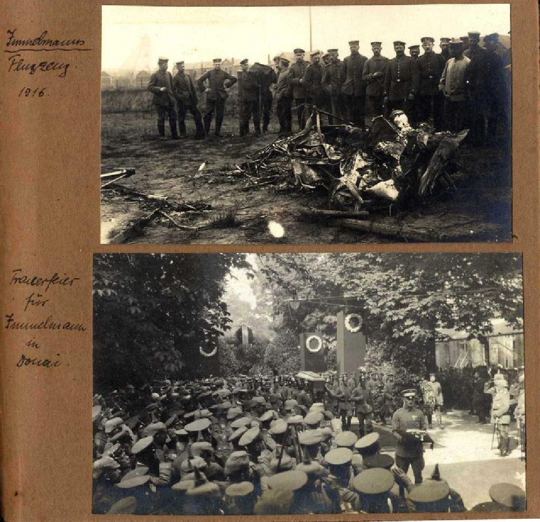 Three Albums with Photographs from WWI, Germany and - 3