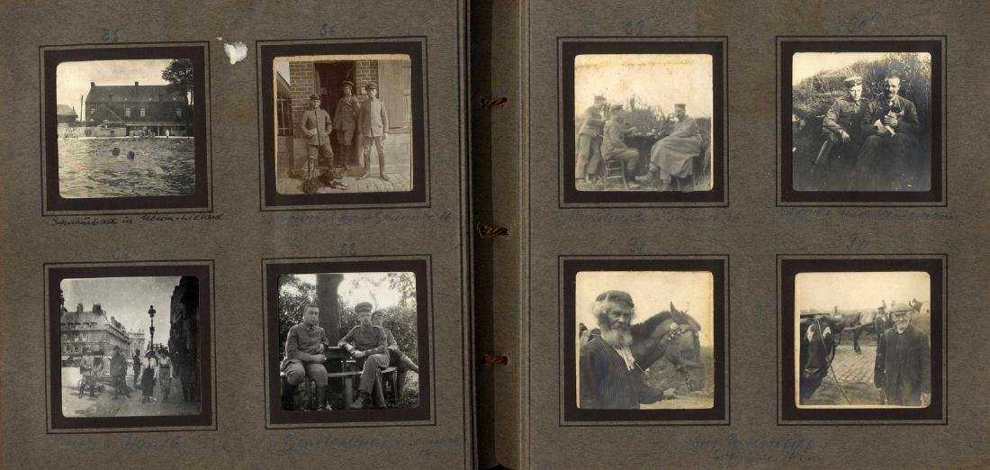 Three Albums with Photographs from WWI, Germany and - 4