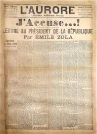 """""""J'Accuse"""" - Sensational Article Written by Émile"""