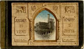 The Old City of Jerusalem  Folder of Postcards