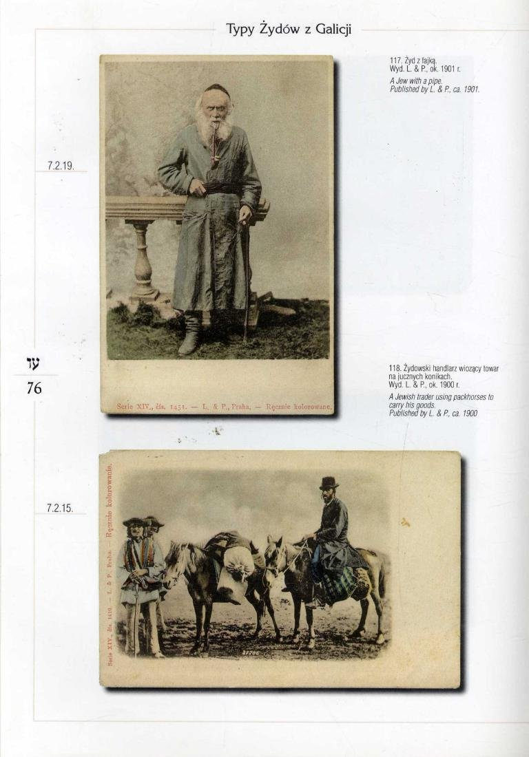 Old Jewish Postcards - Book - Jewish Postcards from the - 2