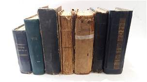 Collection of 7 Chassidic Prayer Books Eastern