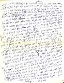 Letter from the First Prime Minister, David Ben-Gurion,