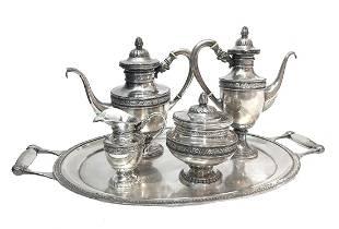 Silver Tea Set AustriaHungary
