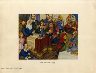 Series of 6 Color Prints by Arthur Szyk Jewish