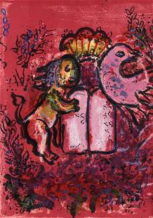 The Jerusalem Windows by Marc Chagall with 2 Original