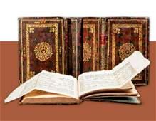 Chumashim Ezrat HaSofer 4 Volumes With the Folded