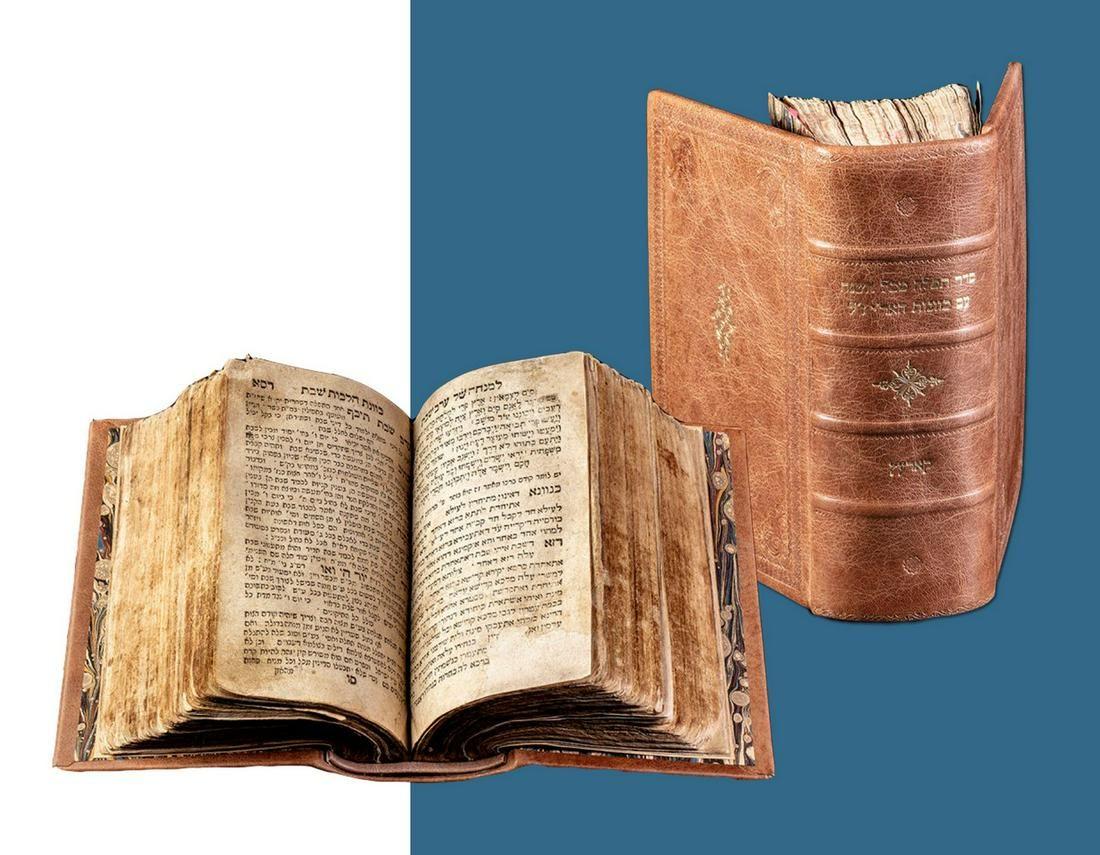 Rabbi Shabtai of Rashkov's Siddur. Rare First Edition