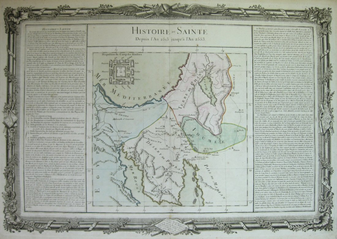 Maps. Geographic-Historic Description of the Holy Land