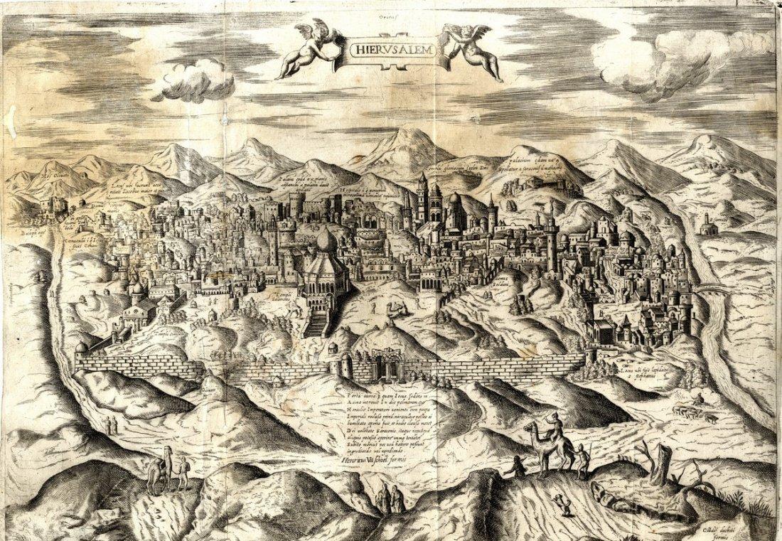 Claudio Ducheti. Hierusalem. Rome, c. 1600.