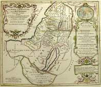 Map of the Holy Land in Herods Time Pierre