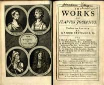 The Works of Flavius Josephus. London, 1709. [3[
