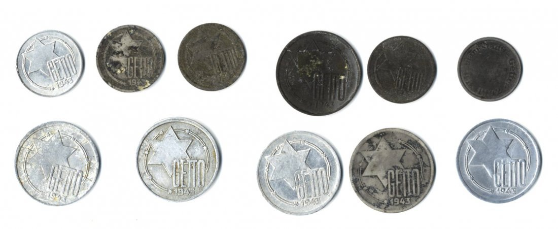 Coins from the Lodz Ghetto [11]. Poland, 1943