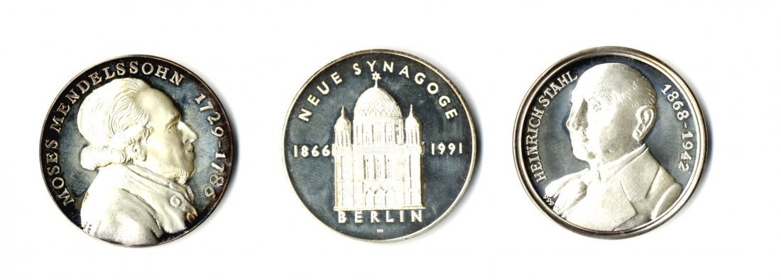 Silver Medals [3]. Jews in Germany. 1991-2