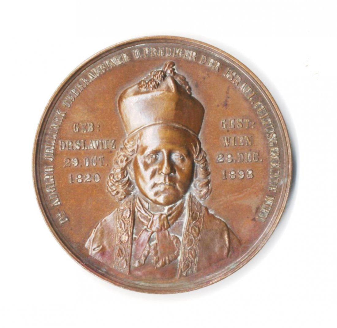 Dr. Adolf Jellinek (1820-1893), Rabbi of Vienna.