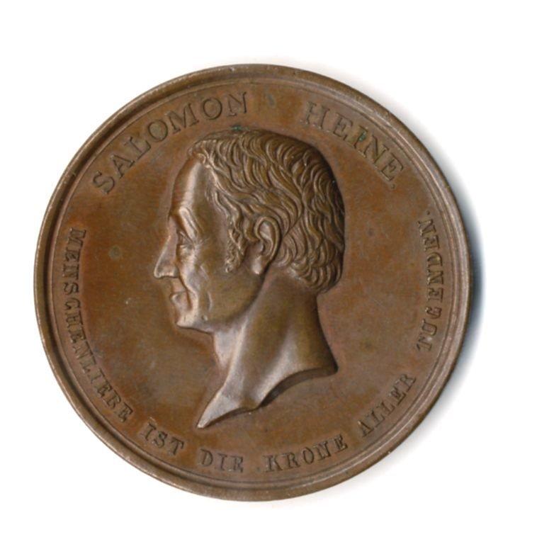 Bronze Medal. German, 1841