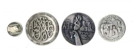 Silver Medals [4]. Holocaust and Israel. 2nd half of