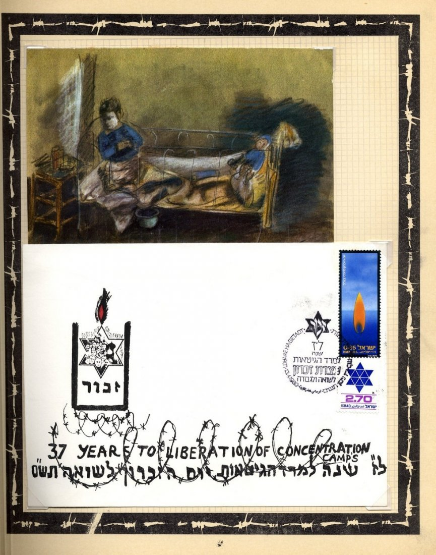Album of Holocaust Stamps