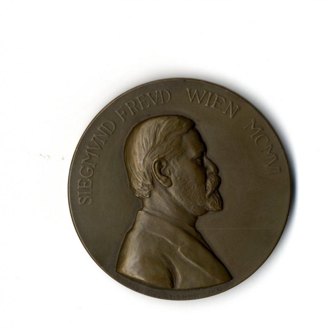 Medal. Sigmund Freud. Vienna, 1906.