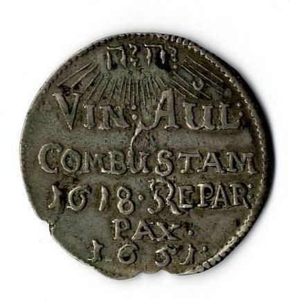 Silver Medal. Germany, 1651.