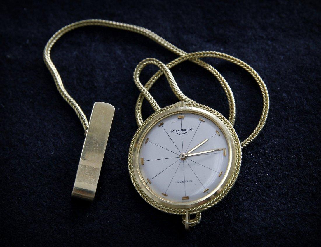 Gold Pocket Watch. PATEK PHILIPPE. 18K Gold. Geneva.