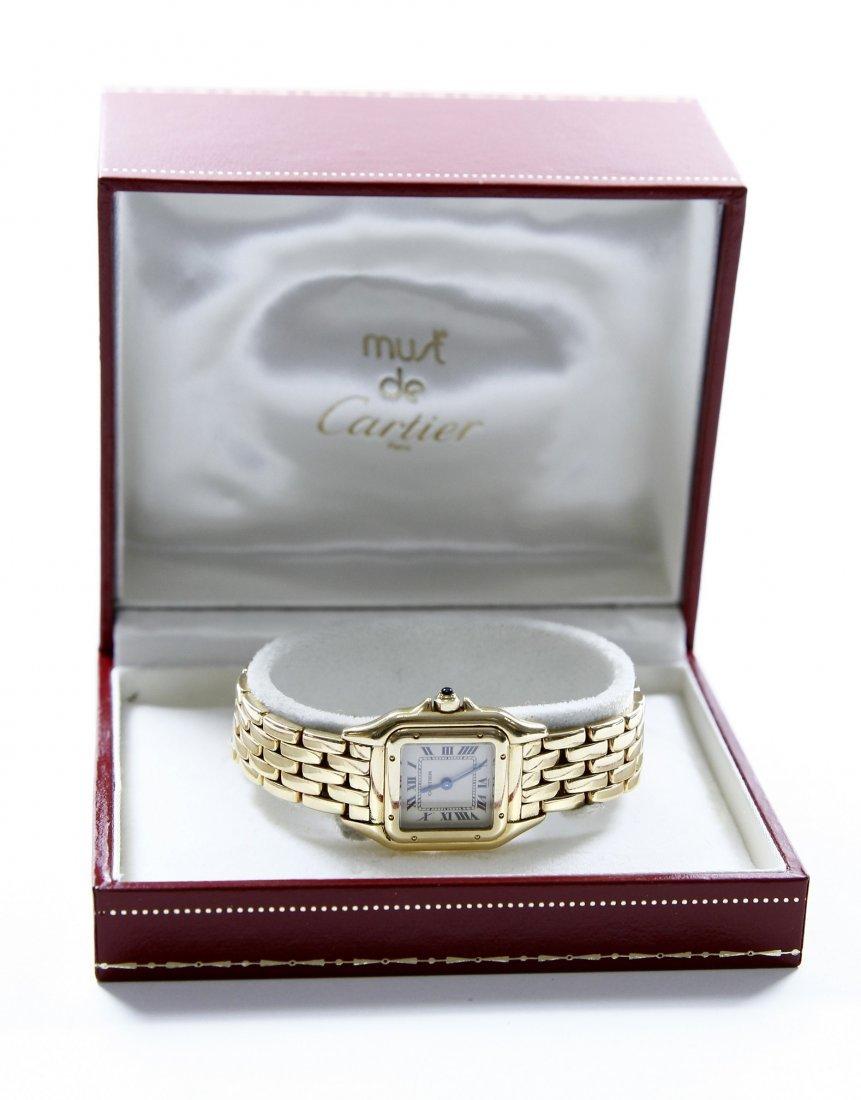 Women's Watch. Cartier. Gold. 18k.