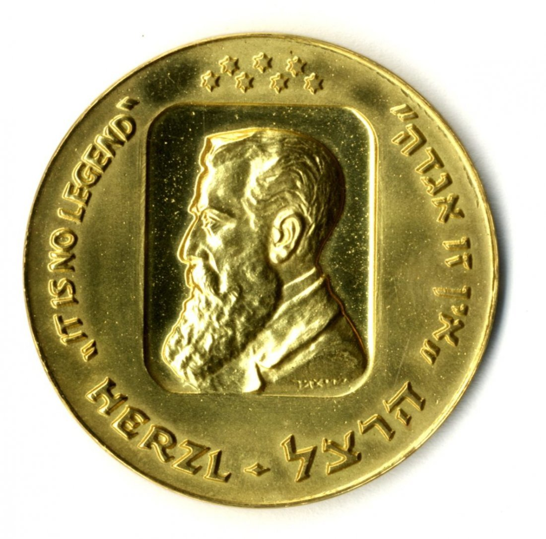 Gold Medal. Twentieth Anniversary of the State of