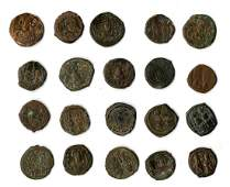 Large Lot of Byzantine Coins 172