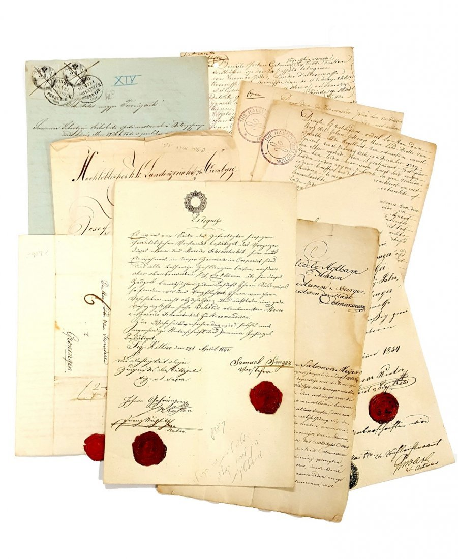 A Collection of Letters from Communities in Holland,