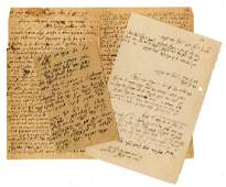 Collection of letters from Rabbi Chaim Yaakov Naftali