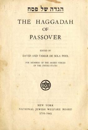 Haggada for American soldiers. New York-Philadelphia,